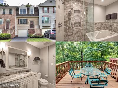 Springfield Townhouse For Sale: 8880 Winding Hollow Way