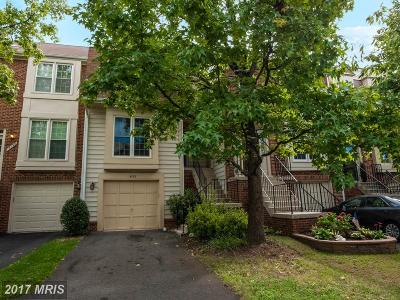 Centreville Townhouse For Sale: 14138 Betsy Ross Lane