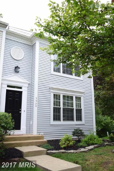 Centreville Townhouse For Sale: 5920 Gunther Court
