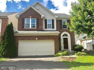 Alexandria Single Family Home For Sale: 8730 Talbott Farm Drive