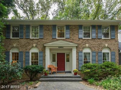 Fairfax Single Family Home For Sale: 4804 Bentonbrook Drive