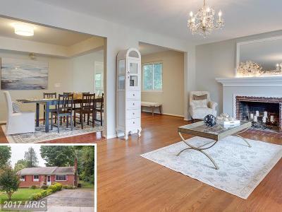 Springfield Single Family Home For Sale: 6203 Kentland Street