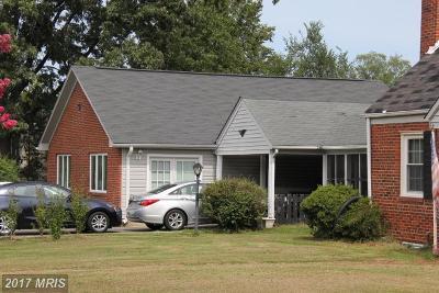 Alexandria Single Family Home For Sale: 4801 Martin Street