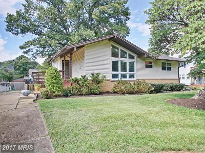 Vienna Single Family Home For Sale: 2702 Occidental Drive