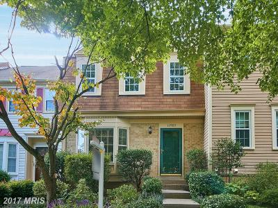 Reston Townhouse For Sale: 11982 Sentinel Point Court