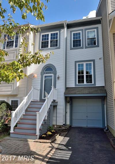 Lorton Townhouse For Sale: 8325 Linden Oaks Court