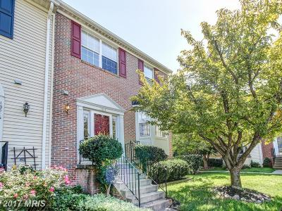 Centreville Townhouse For Sale: 13814 Bridlington Court