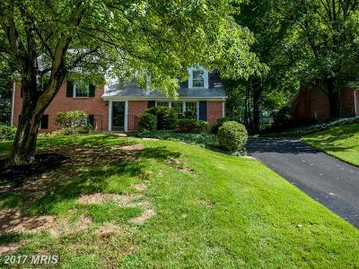 Fairfax Single Family Home For Sale: 4517 Pickett Road