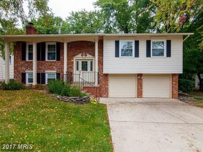 Burke Single Family Home For Sale: 9528 Shipwright Drive