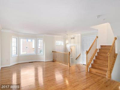 Falls Church Townhouse For Sale: 6205 Squires Hill Drive