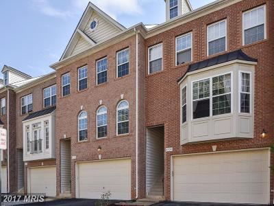 Fairfax Townhouse For Sale: 4527 English Holly Drive