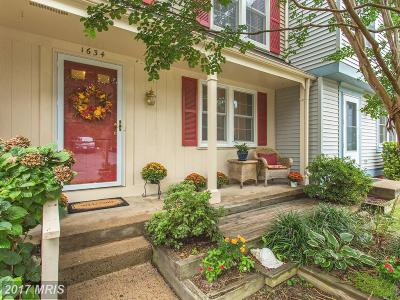 Reston Townhouse For Sale: 1634 Barnstead Drive