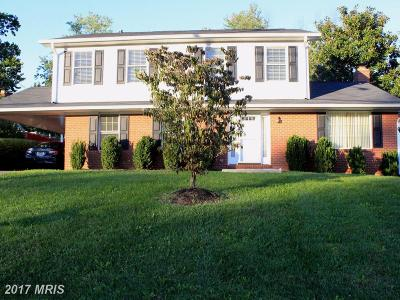 Fairfax Single Family Home For Sale: 9618 Braddock Road