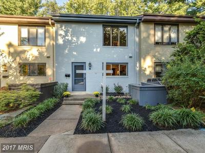 Reston Townhouse For Sale: 2018 Golf Course Drive