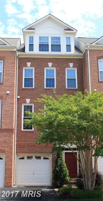 Herndon Townhouse For Sale: 13011 Park Crescent Circle