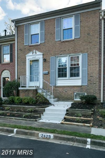 Reston VA Townhouse For Sale: $409,000