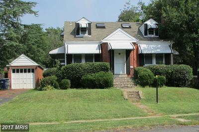Falls Church Rental For Rent: 6066 Wooten Drive