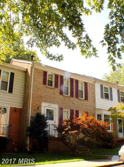 Burke Townhouse For Sale: 5933 Kara Place