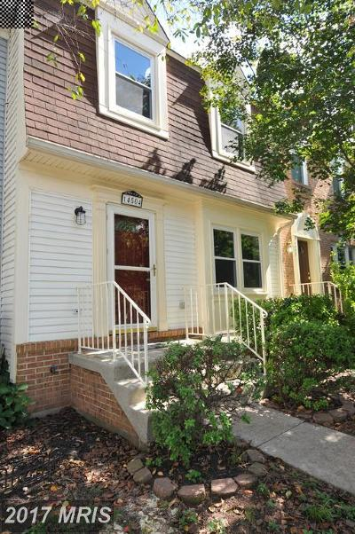Centreville Townhouse For Sale: 14504 Eddy Court