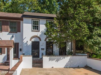 Fairfax Townhouse For Sale: 2929 Espana Court