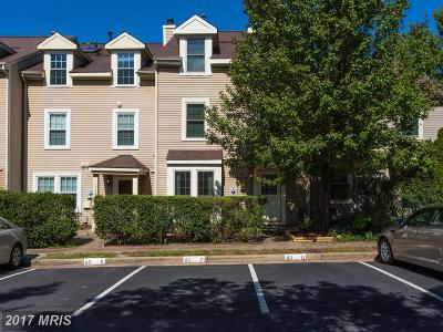 Centreville Townhouse For Sale: 14364 Havener House Court