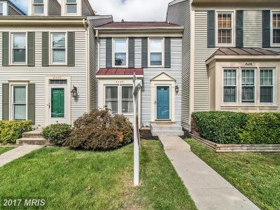 Springfield Townhouse For Sale: 8488 Laurel Oak Drive