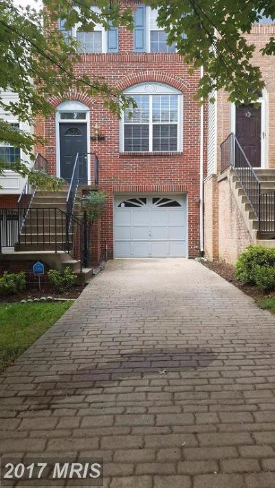 Herndon Townhouse For Sale: 2414 Simpkins Farm Drive