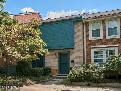 Reston Townhouse For Sale: 2110 Golf Course Drive