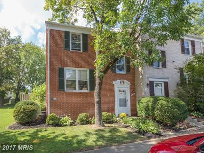 Burke Townhouse For Sale: 5421 Lighthouse Lane