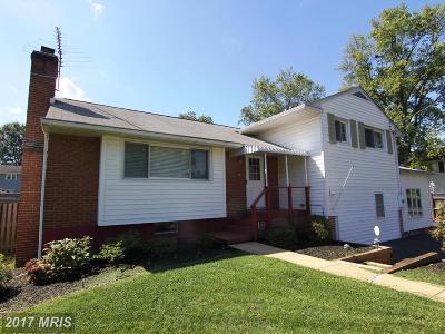 Fairfax Single Family Home For Sale: 3703 Lakota Road