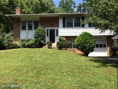 Fairfax VA Single Family Home For Sale: $482,000