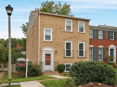 Oakton Townhouse For Sale: 3201 White Flint Court