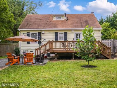 Falls Church Single Family Home For Sale: 2847 Cameron Road