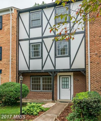 Centreville Townhouse For Sale: 6165 Gothwaite Drive