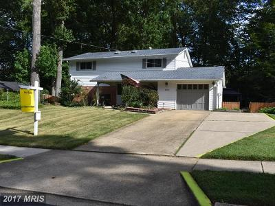 Springfield Single Family Home For Sale: 8606 Victoria Road