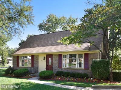 Fairfax Single Family Home For Sale: 8119 Edmonton Court