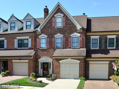 Alexandria Townhouse For Sale: 6285 Chaucer View Circle