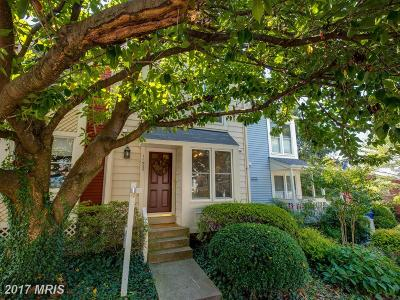 Reston Townhouse For Sale: 11935 Redtree Way
