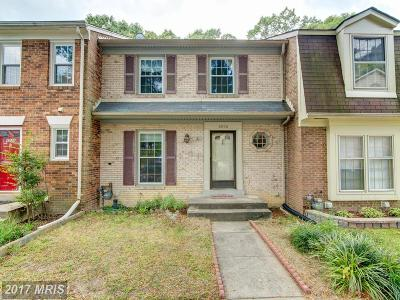 Springfield Townhouse For Sale: 8036 Bethelen Woods Lane