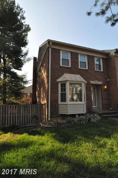Fairfax Rental For Rent: 4761 Gainsborough Drive