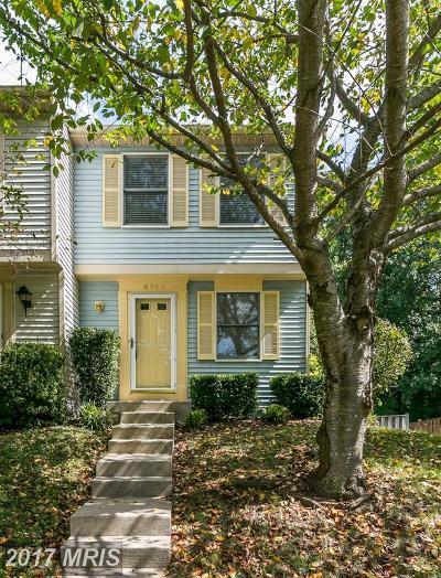 Lorton Townhouse For Sale: 8764 Susquehanna Street