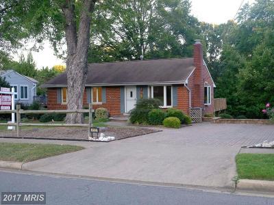 Alexandria Single Family Home For Sale: 4123 Teton Place
