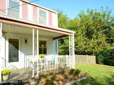 Fairfax, Fairfax City Duplex For Sale: 5806 Edgehill Drive