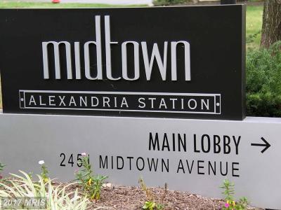 Alexandria Rental For Rent: 2451 Midtown Avenue #1603