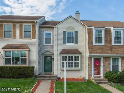 Centreville Townhouse For Sale: 6843 Cottingham Lane