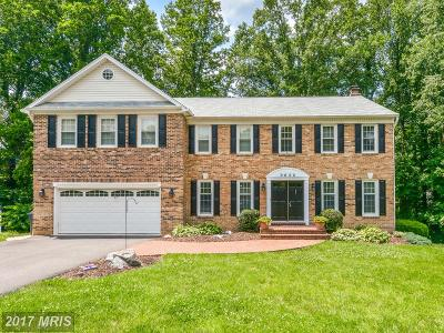 Fairfax VA Single Family Home For Sale: $837,950