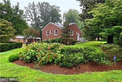 Falls Church Rental For Rent: 3244 Peace Valley Lane