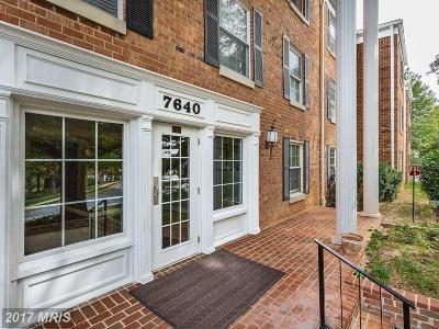 Fairfax Condo For Sale: 7640 Tremayne Place #102