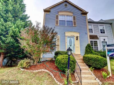 Centreville Townhouse For Sale: 14748 Green Park Way