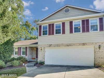 Burke Single Family Home For Sale: 9505 Ironmaster Drive
